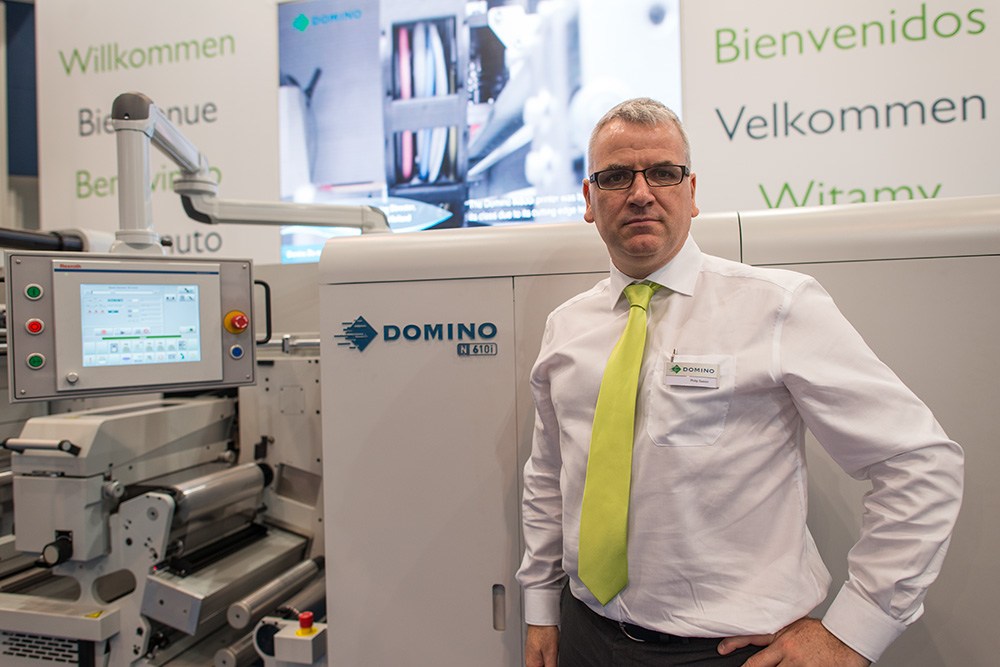 Philip Easton, managing director of Domino Printing.