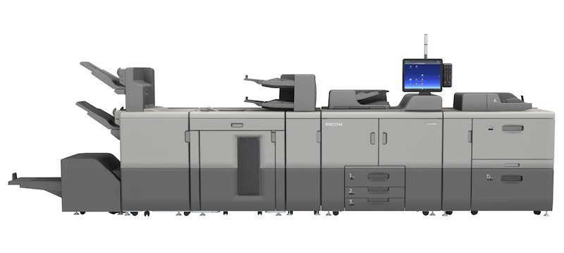 Ricoh announces new Mono 8300 series – Graphics to